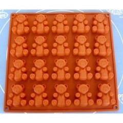 20 Bear Cake Chocolate Cookie Candy Mold