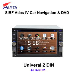 Universal 2din DVD GPS SiRF A4