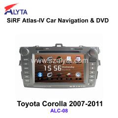 Toyota Corolla GPS DVD Player Radio RDS Am Fm Tuner USB SD Canbus IPOD TV USB SD IPOD Bluetooth LCD Widescreen