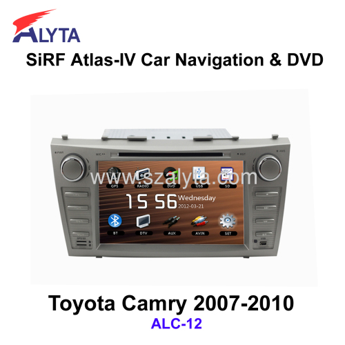 toyota camry 2007 2010 navigation dvd sirf a4 from china manufacturer shenzhen alyta industry. Black Bedroom Furniture Sets. Home Design Ideas