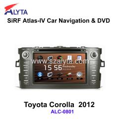 2012 Toyota Corolla Car radio