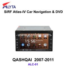 Nissan Livina Tiida Sylphy Qashqai navigation dvd SiRF A4
