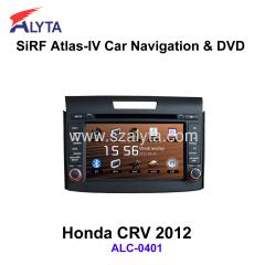 Honda CRV 2012 navigation dvd SiRF A4