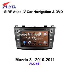 Mazda 3 2010-2011 navigation dvd SiRF A4