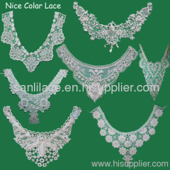 2012 fashion cotton collar lace