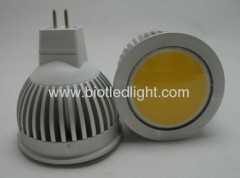 3W COB High Power led spot MR16 base