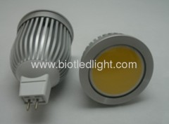 5W COB High Power led spot MR16 base