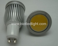 7W COB High Power led spot GU10 base