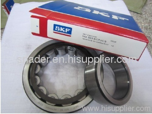 skf cylindrical roller bearing (nu322ecp/c3)