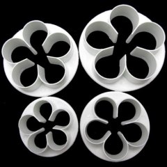 cake decoration set plum Flower Blossom Sugarcraft Plunger Cutter