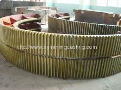 Large Steel Gears Sand Casting