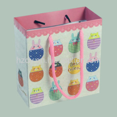 CUTE PAPER GIFT BAG WITH HANDLE