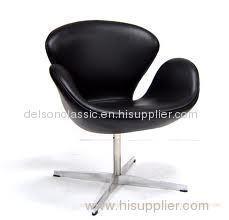 Swan Chair, replica swan chair, leather swan chair, fabric swan chair