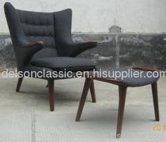 papa bear chair, teddy bear chair, fabric lounge chair