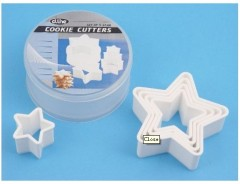 cake decoration set Fondant Cake Decorating DIY Tool Sided star Cookie Cutters
