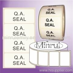 QA Calibration Labels