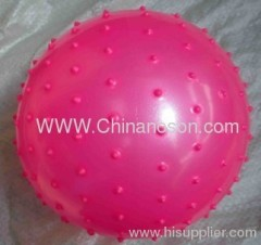 Pink Inflatable ball PVC toy ball
