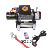 Auto Break Winch 12000LB for toughest pulling demand