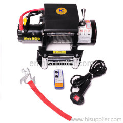 Electric Power Winch for car