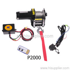 ATV Trailer Winch