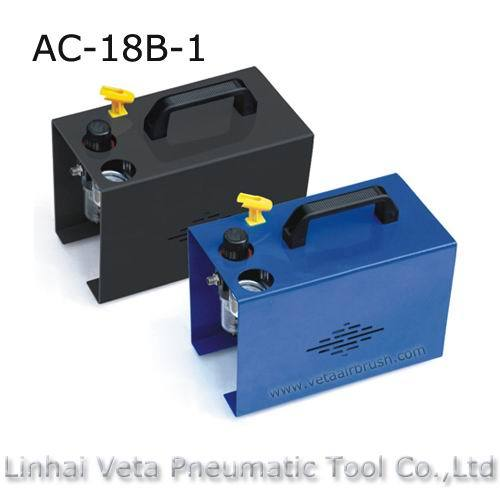 airbrush compressor with cover