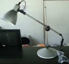 Massive rechargeable 7w LED table lamp