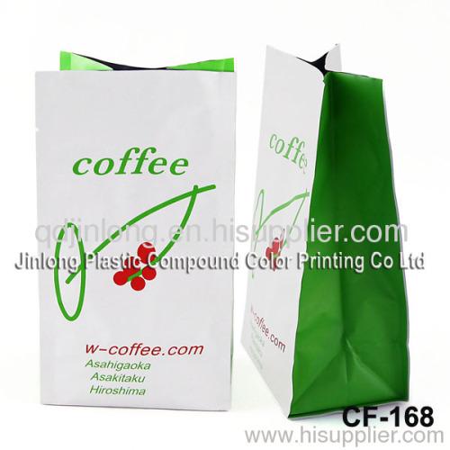 coffee bag with tear nick