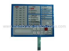 OEM membrane switch/keyboards with 3M adhesive