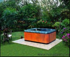 Outdoor spa tubs