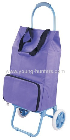 fashion travel folding shopping trolley