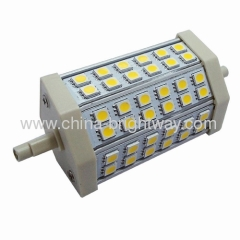 118mm 8W R7S Led lamp to replace 70W halogen lamp
