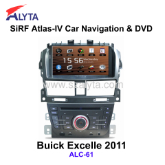 BUICK Excelle 2011 navigation dvd SiRF A4