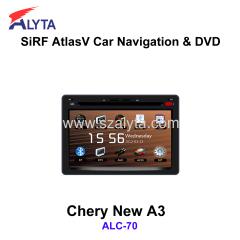 Chery New A3 navigation dvd SiRF A4