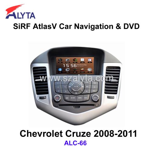 CHEVROLET Cruze 2008-2011 navigation dvd SiRF A4
