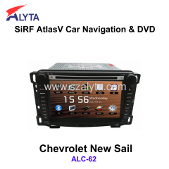 CHEVROLET New Sail navigation dvd SiRF A4