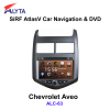 CHEVROLET Aveo navigation dvd SiRF A4 (AtlasⅣ) 8.0 inch touch screen