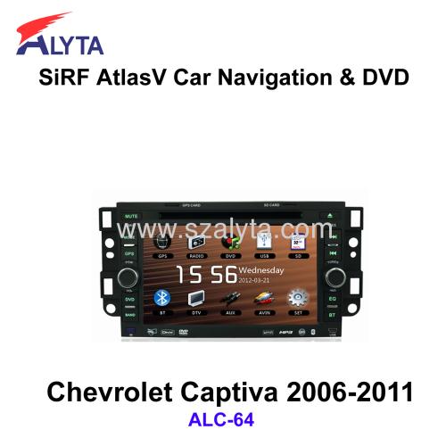 CHEVROLET Captiva Navigation DVD player