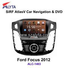 Ford Focus 2012 navigation dvd SiRF A4
