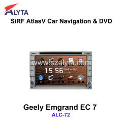 Emgrand EC 7 navigation dvd SiRF A4