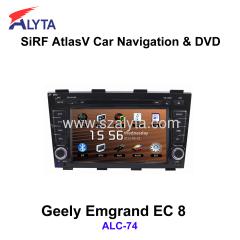 Emgrand EC 8 navigation dvd SiRF A4