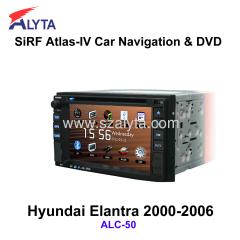 Hyundai Elantra 2000-2006 navigation dvd SiRF A4