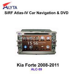 KIA Forte 2008-2011 navigation dvd SiRF A4