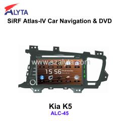 KIA K5 navigation dvd SiRF A4