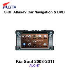KIA Soul 2008-2011 navigation dvd SiRF A4