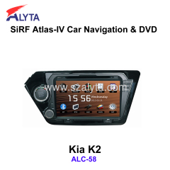 KIA K2 navigation dvd SiRF A4