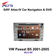 Volkswagen Passat B5 2001-2005 navigation dvd SiRF A4