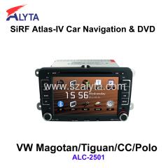Volkswagen Magotan Tiguan CC Polo navigation dvd SiRF A4