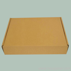 plain Single corrugated carton