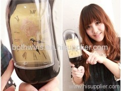 bottle melt clock