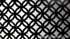 decorative perforated metal material